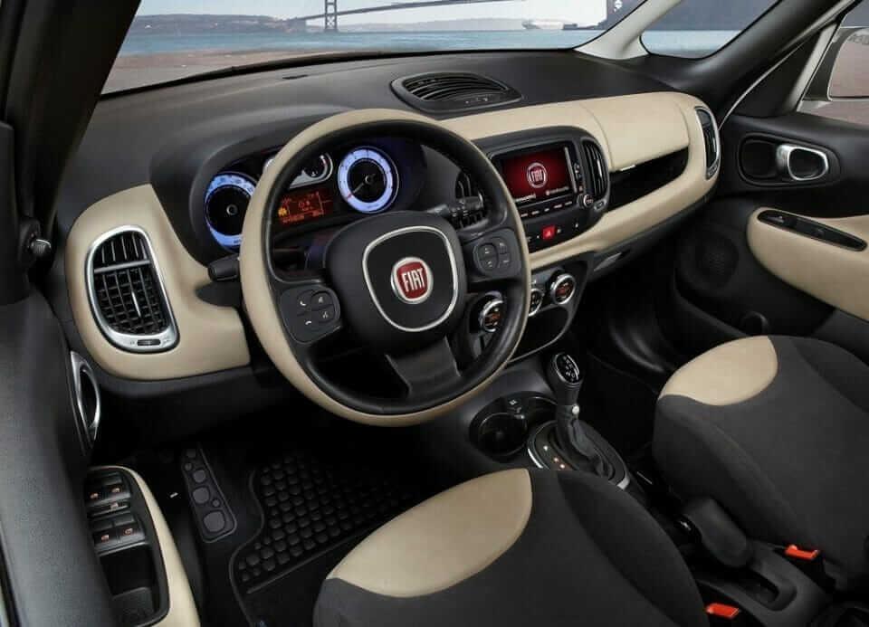 Fiat 500L 2014 Cab