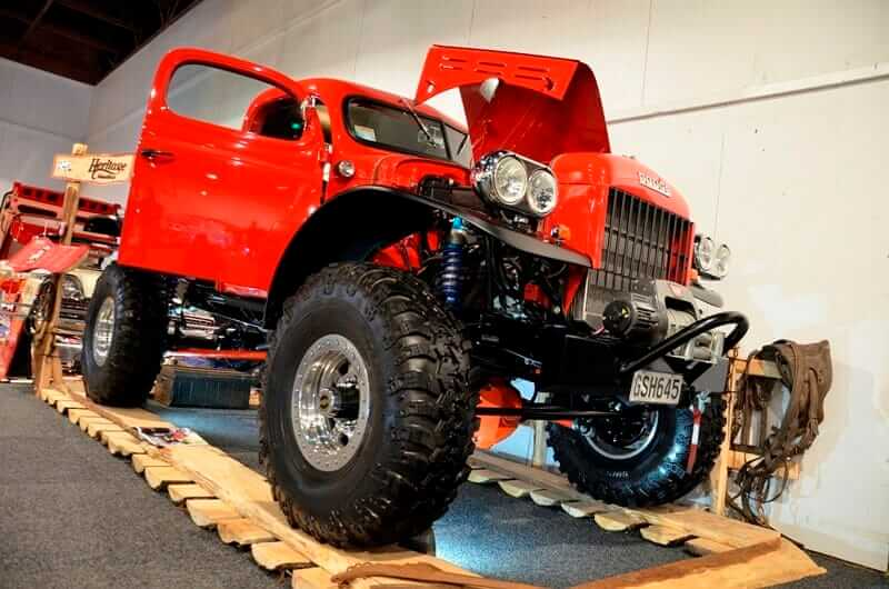 Dodge power wagon at the 2013 Castrol EDGE - Teng Tools Custom & Classic Show by Matthew Hansen1