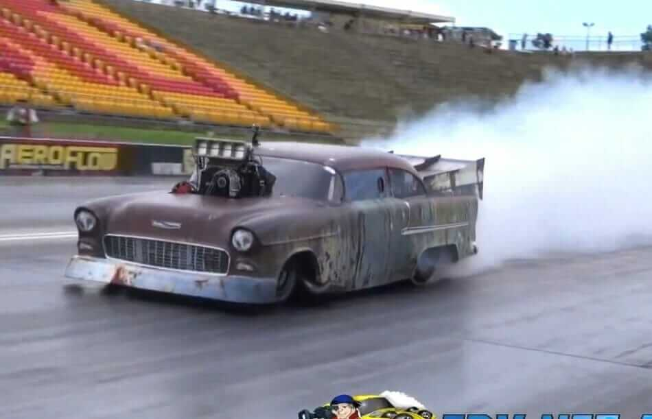 3000bhp Chevy Destroyes Quarter Mile In 6 41 Seconds At