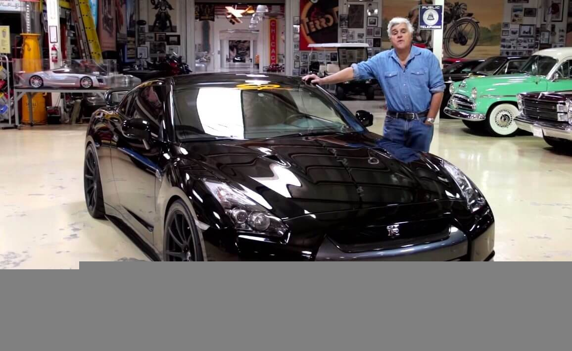 Jay Leno Garage : Jay leno s garage is a low octane vehicle for cnbc u variety
