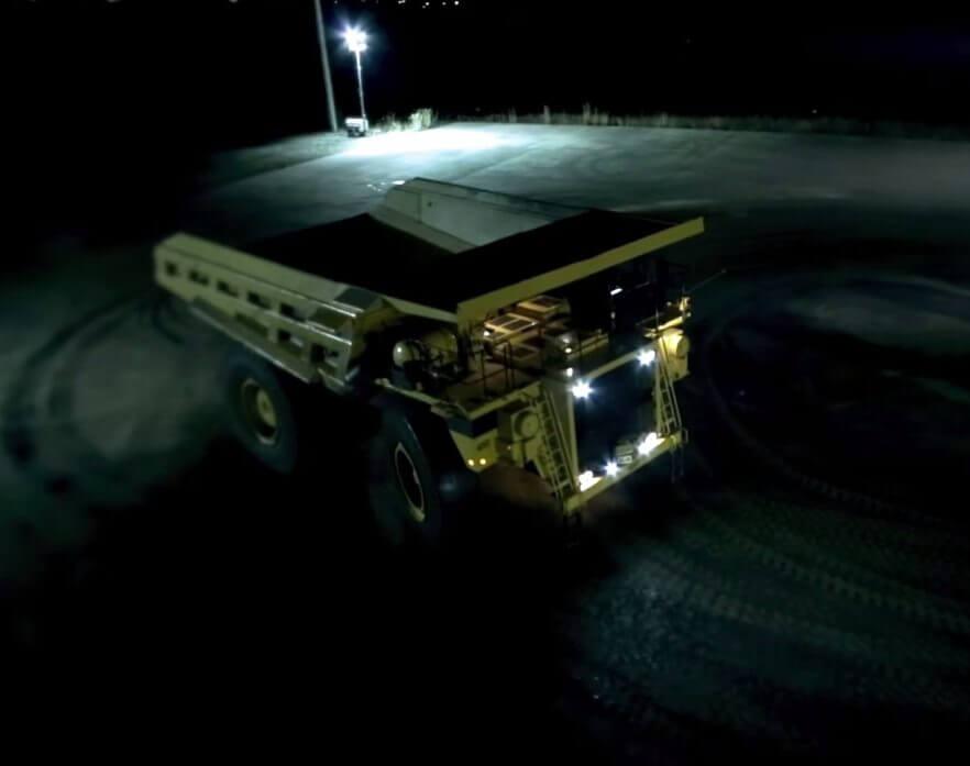 Mining Truck Drift