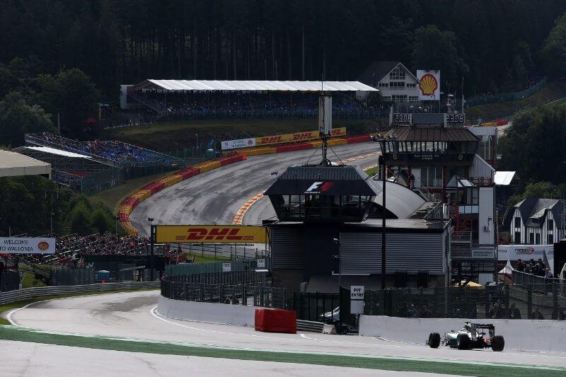 F1 2014 SPA qualifying