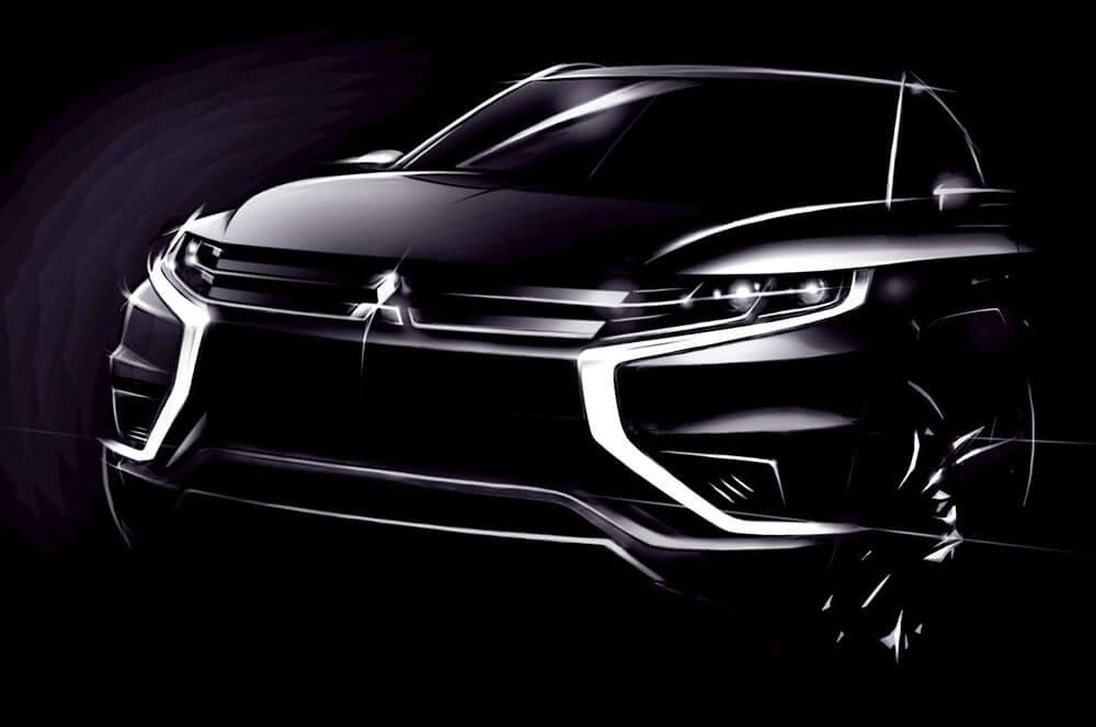 Mitsubishi Outlander-PHEV-Concept-S-Front