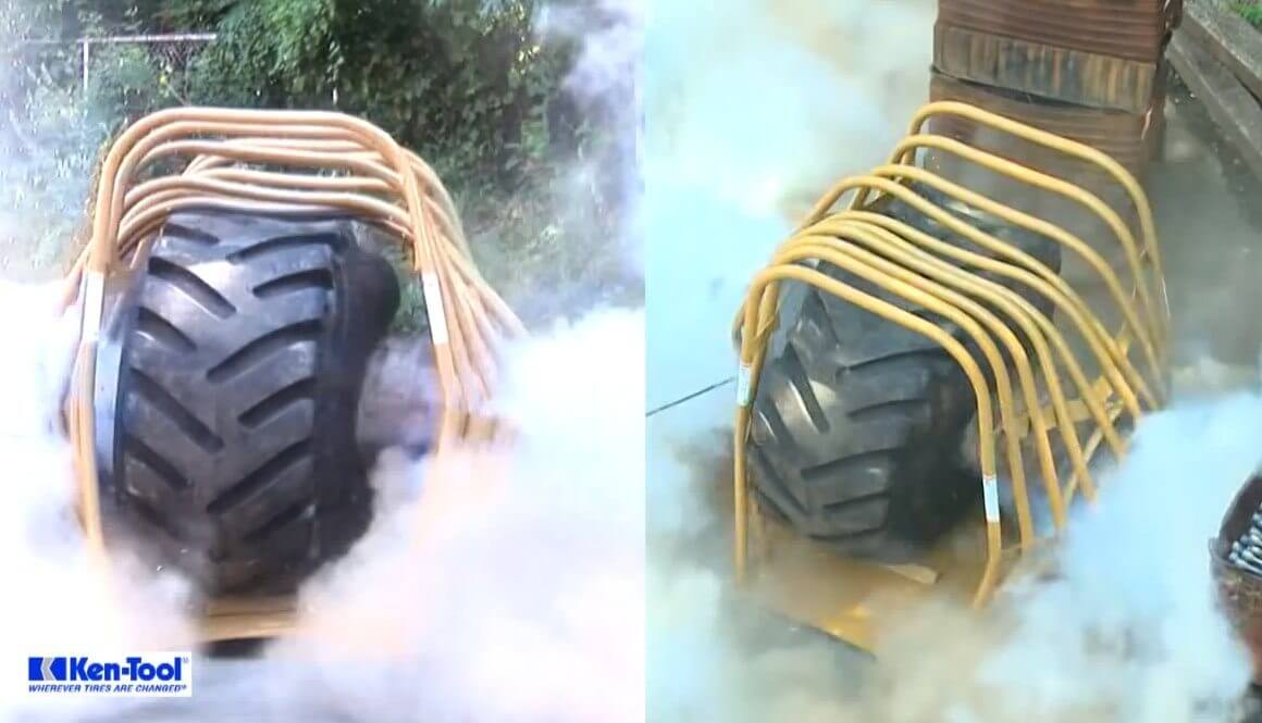 Tyre-Explosion