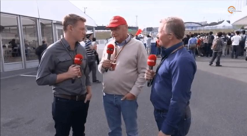 Niki Lauda F1 Change