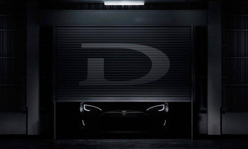 Tesla model D small