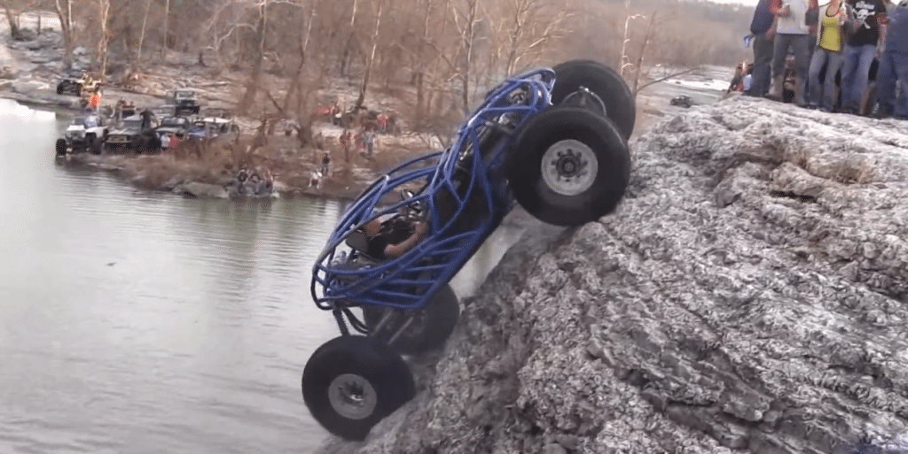 off road rock climber