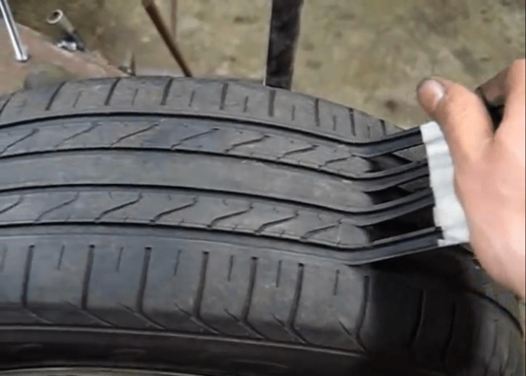 Scam Artist recut tire