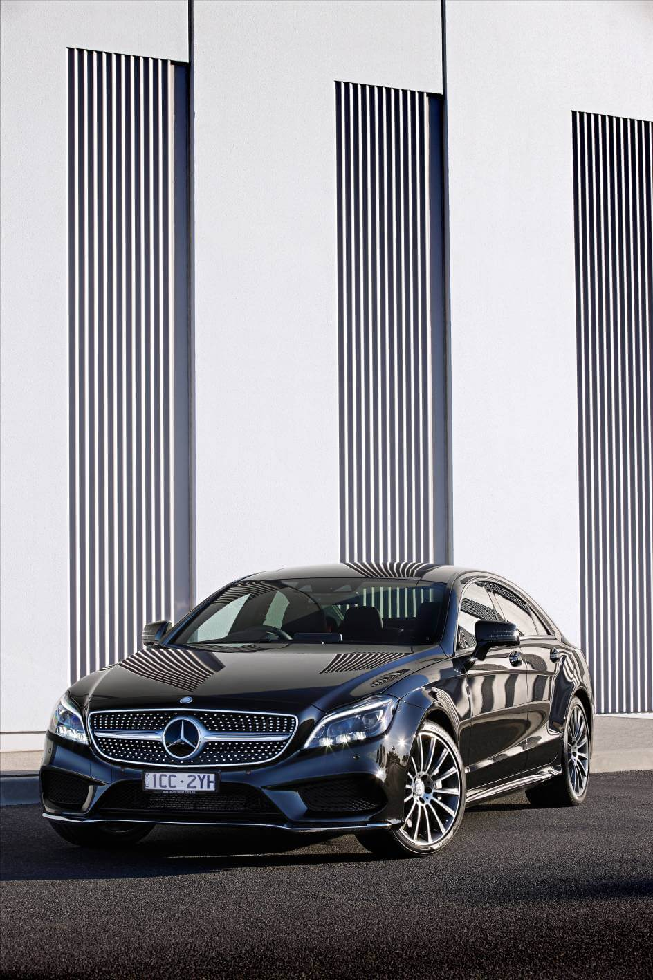 merc 39 s next gen cls class has arrived nz pricing. Black Bedroom Furniture Sets. Home Design Ideas