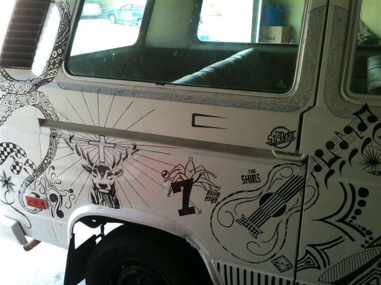 Sharpie Van 4