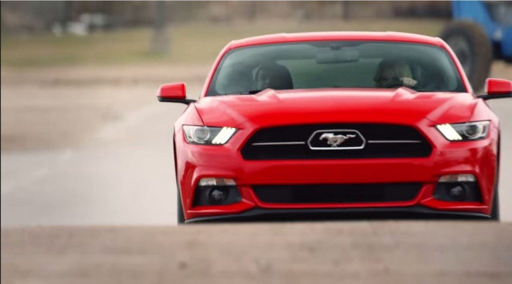 Ford Mustang speed dating