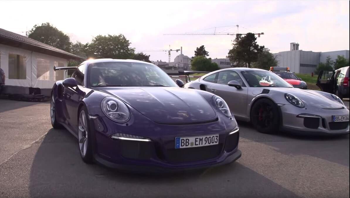 Porsche GT3RS Chris Harris
