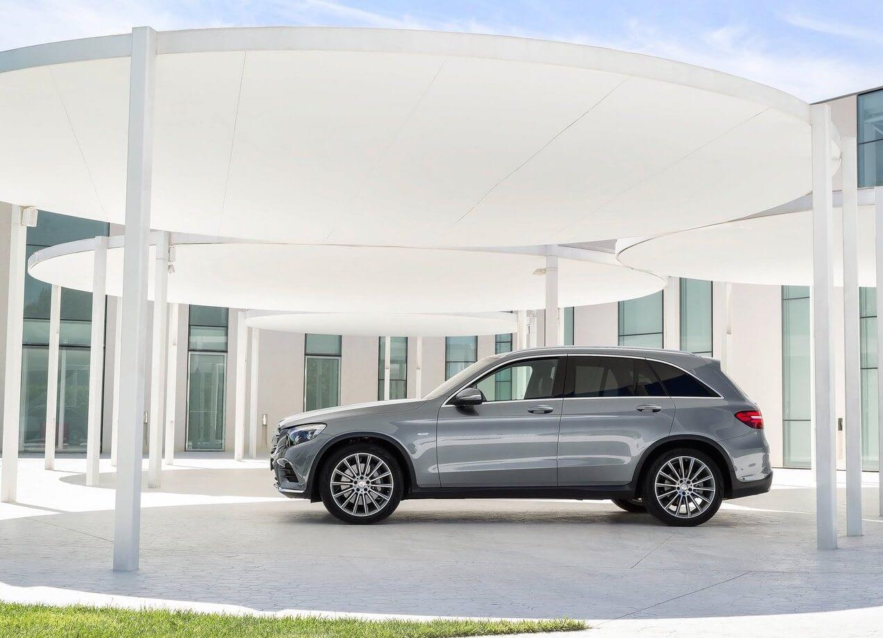 Mercedes Benz GLC AMG Pack Side