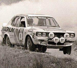 Rod Millen's Mazda RX3 (1976). Photo Paul Smith