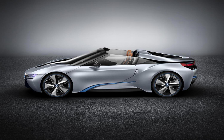 BMW-i8-Spyder-Concept-Beijing-Side
