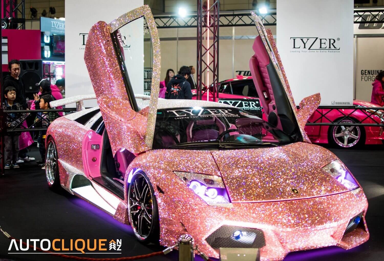 2016-Tokyo-Auto-Salon-Lamborghini-Murcielago-Cyrstals