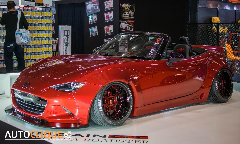 2016-Tokyo-Auto-Salon-Mazda-MX-5-Aimgain
