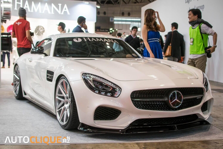 2016-Tokyo-Auto-Salon-Mercedes-AMG-GT-Hamana