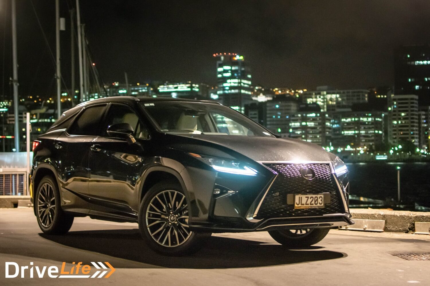 Drive Life Nz Car Review Lexus Rx450h F