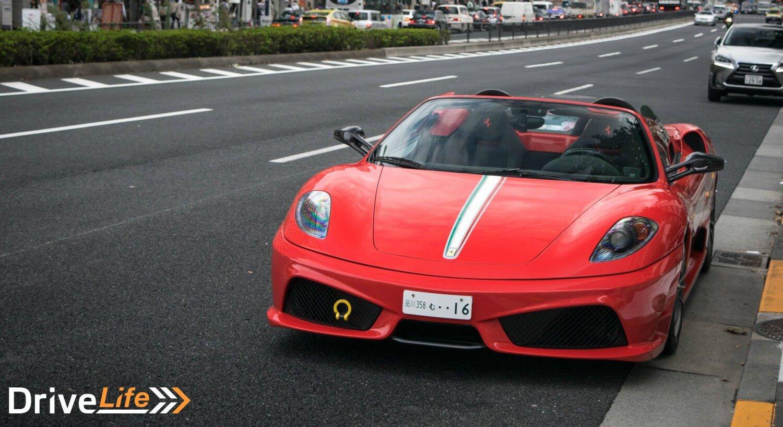 drivelife-nz-tokyo-car-spotting-aoyama-ferrari-scuderia-16m