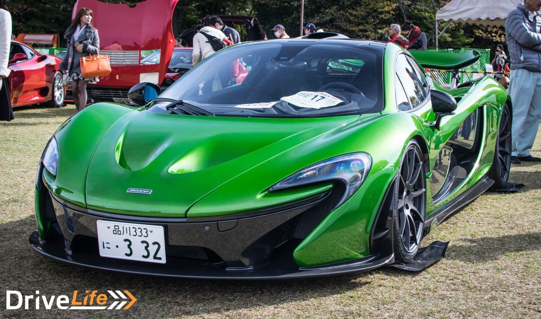 mclaren-p1-green-tokyo