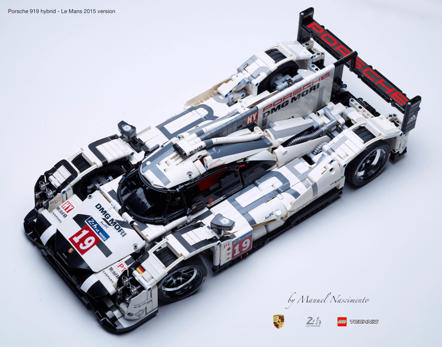 amazing fan built lego technic porsche 919 the 2015 le mans winner drivelife drivelife. Black Bedroom Furniture Sets. Home Design Ideas