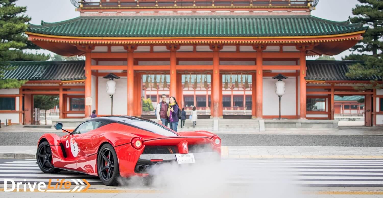 ferrari-cavalcade-japan-laferrari-heian-shrine