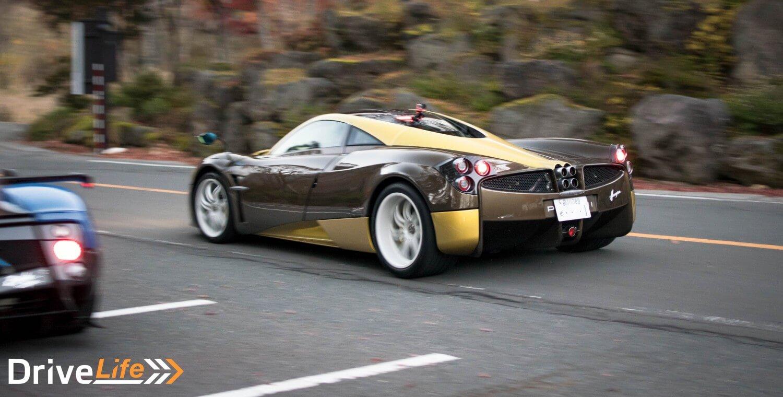 pagani-touge-drive-japan-nikko-huayra-gold