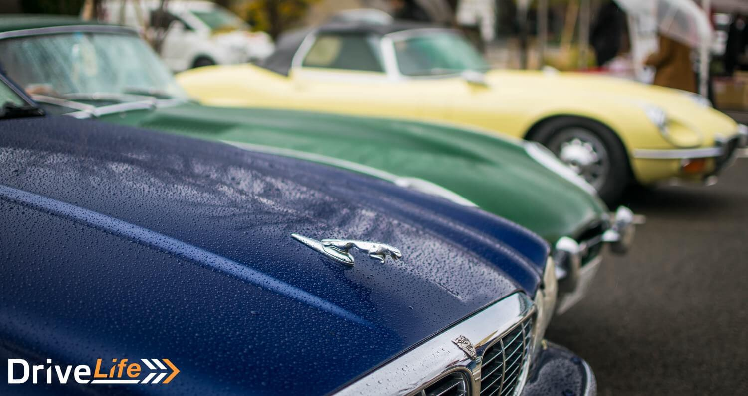Classic Jags Meet In The Rain - A Very Wet Cars & Coffee in Tokyo ...