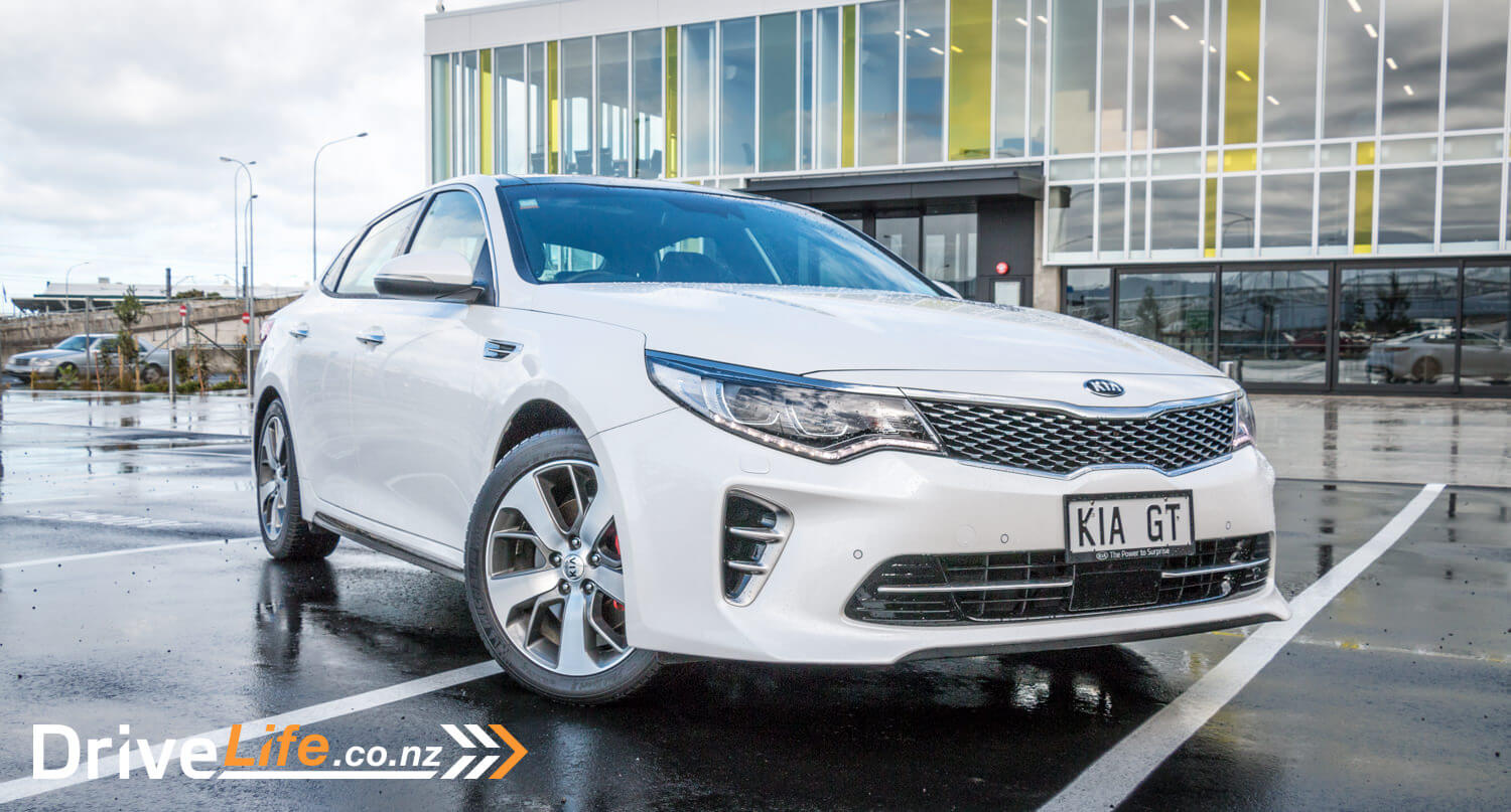 2017 Kia Optima Gt Car Review The Power To Surprise Drivelife You Are Here Home Page Generators Electrical Cords What We Think