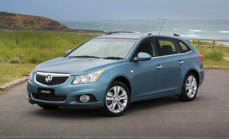 Stylish and versatile Sportwagon completes the Cruze family
