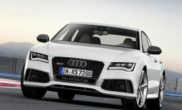 2014 Audi RS7 Sportback debuted at the Detroit Auto Show