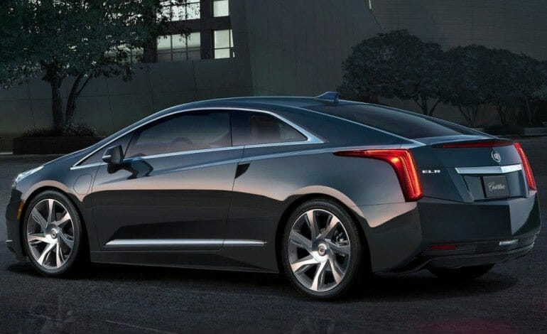 Cadillac unveiled the ELR at the US Auto Show