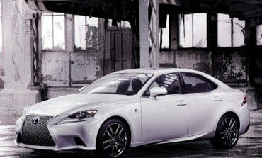 Lexus reveal the new IS