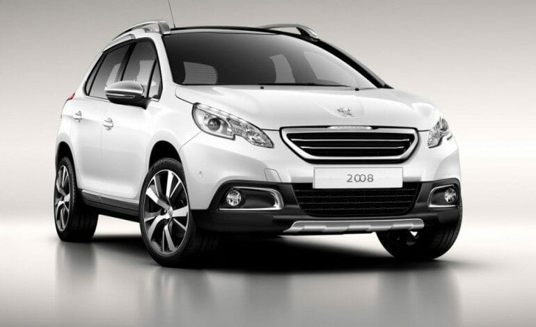 2013 Peugeot 2008 Official Pictures