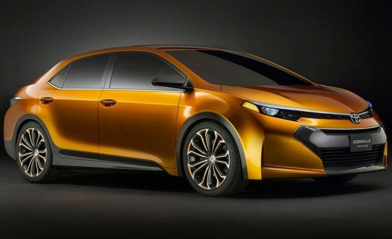 Toyota Corolla Furia Concept unveiled in Detroit.