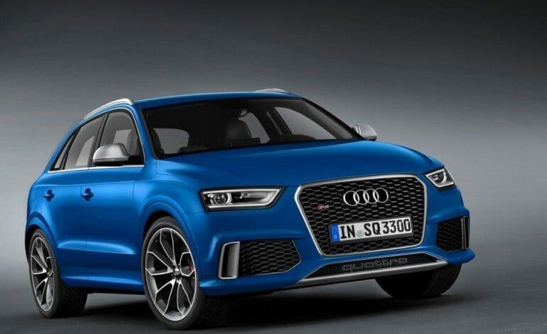 First RS model in the Q series – Audi RS Q3
