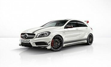 The new Mercedes-Benz A45 AMG Edition 1