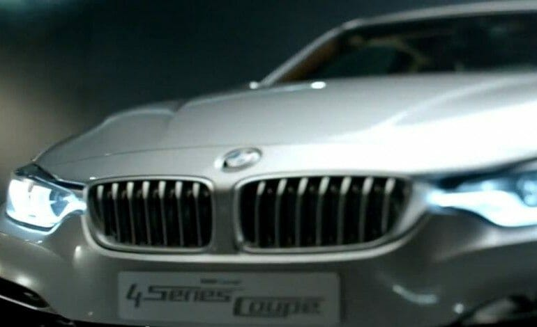 "BMW's new 4 Series Coupé TV Spot – ""Designed for Driving Pleasure"""
