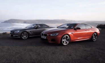BMW M6 v Mercedes SL63 AMG - CHRIS HARRIS ON CARS