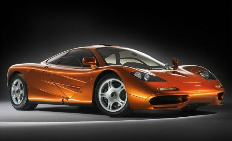 $1.7 million insurance claim to repair Rowan Atkinson's McLaren F1
