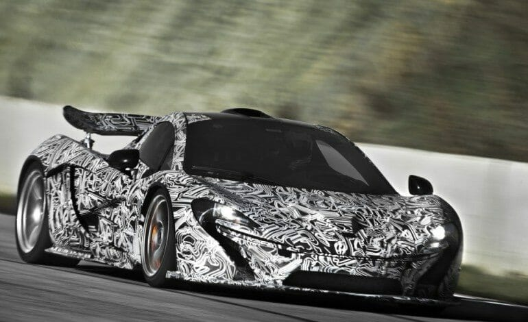 McLaren P1 Adopts Twin power for phenomenal torque, instanly.