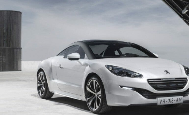 New Face lift for the Peugeot RCZ