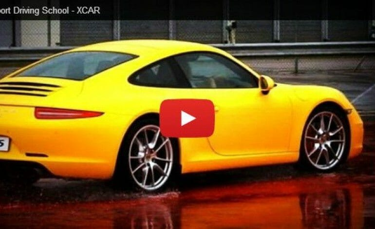 Check out the Porsche driving school – XCAR