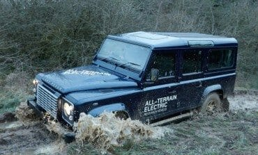 Land Rover's Electric Defender Research Vehicle