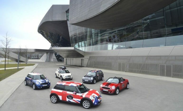 MINI celebrates 100 years of automotive production in Oxford with a transcontinental tour