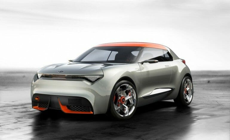 Kia unveils its radical Provo concept at Geneva