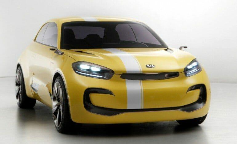 Kia's concept CUB, The 4 Door Coupe