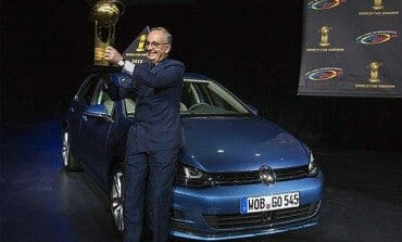 The new Golf is 'World Car of the Year 2013'