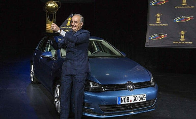 The new Golf is 'World Car of the Year 2013′
